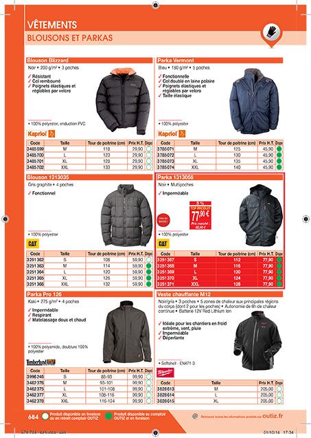 Catalogue Outiz